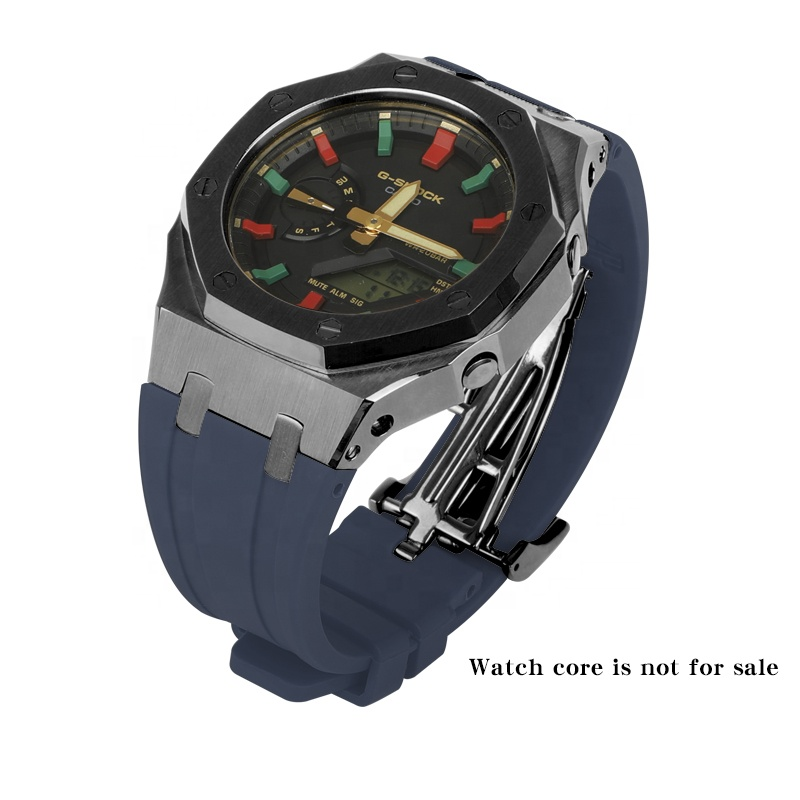 Hot Selling GSHOCK GA-2100 Gen 3 watch band rubber strap stainless steel watch case bezel for modification replacement