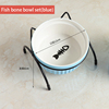 Fish bone bowl set(blue)
