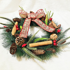 Holiday High Quality Christmas Decoration Luxury Wreath Gift Easter Diy Holiday Front Door Wreath