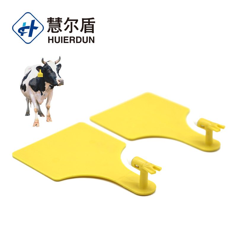 Hed-ET111 High security ear tags cow cattle red color