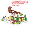 1690-54 Christmas Villa