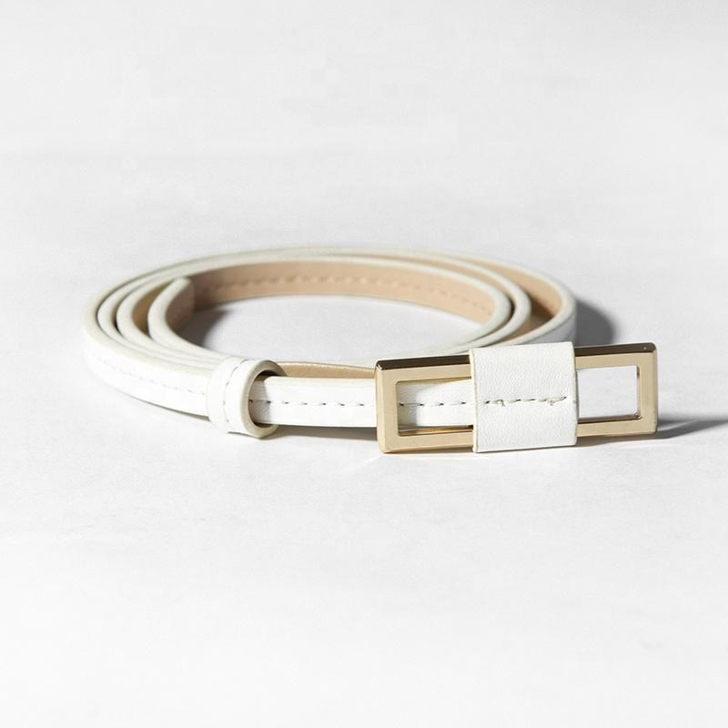 customized cowhide dress fashion waistband waist genuine leather ladies belt