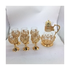 Coffee Factory High Quality Custom Home Daily Luxury Electroplating Gold And Silver Coffee Cup Set