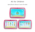 7 inch A33 Quad core Android kids tablet With Silicone Case WIFI tablet pc With many Kids software