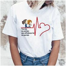 Футболка с буквенным принтом; Мягкая эстетичная Одежда для девочек; Летняя одежда для женщин; Хиппи; Белый топ; Летний топ; Уличная одежда в К...(China)