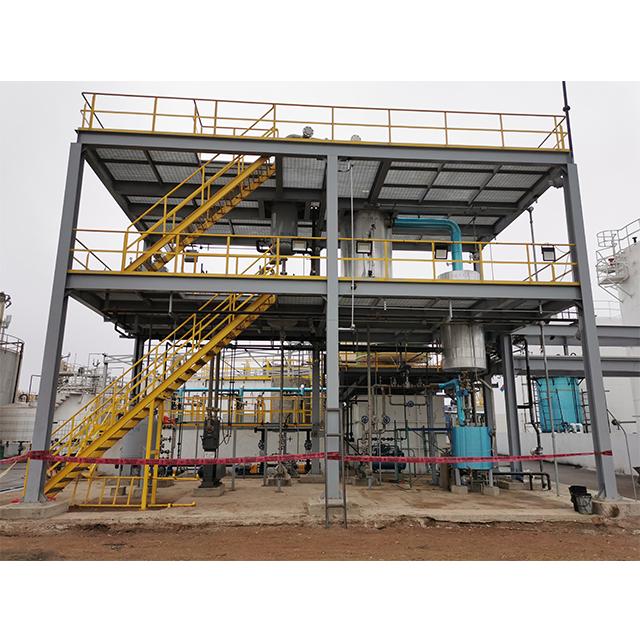 Непрерывная Автоматическая переэтерификация масла в биодизельную дистилляционную машину