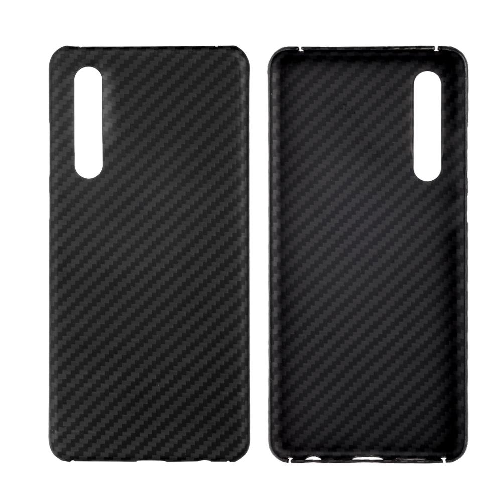 ARTITEK 100% Aramid Fiber phone case for HUAWEI P30/P30 Pro phone Black/Grey  Twill  Matte