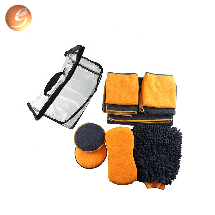 Multi-use washing auto care Microfiber cloth car cleaning set for sale