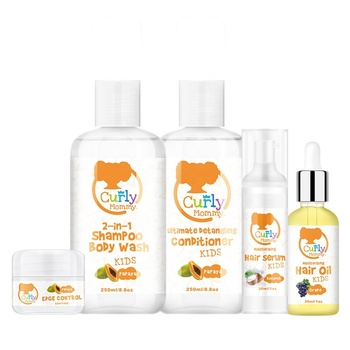 CURLYMOMMY BRANDED natural curly kids hair care products for african hair