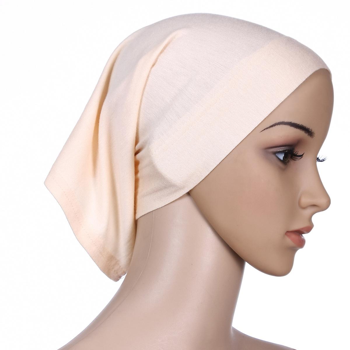 Hot sale inner women hijab cap cotton turban muslim under scarf hijab muslim modal cap