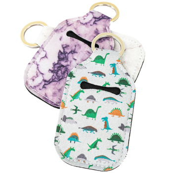 Hot Selling 20ML or 30ML Antiseptic Hand Sanitizer Keychain Holder bag
