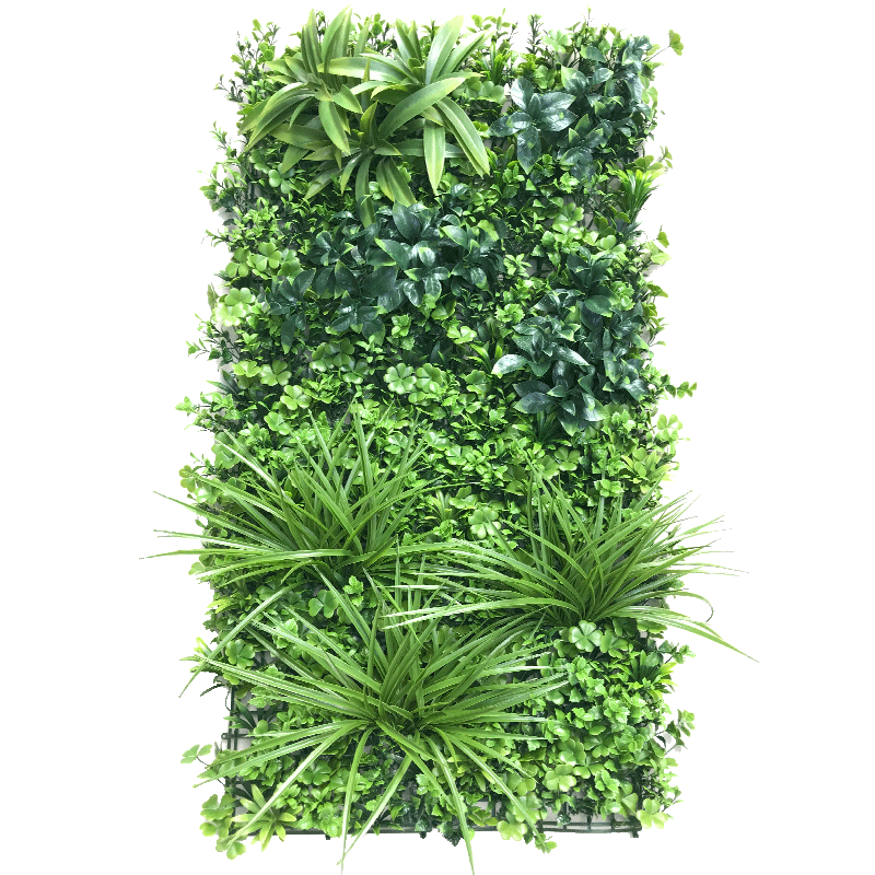 2020 New product faux mat artificial boxwood panels plastic for vertical garden decoration