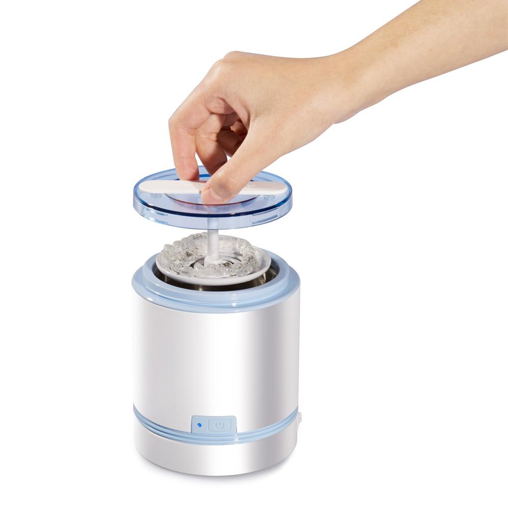 Мини-аппарат для чистки зубных протезов, ультразвуковой очиститель для чистки зубных протезов