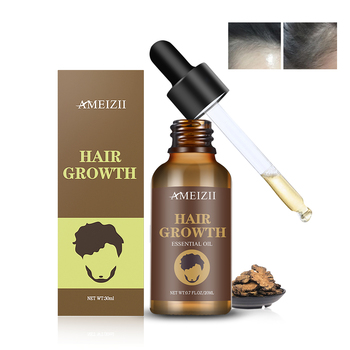 Wholesale Brand Hair Growth Oil Natural Ginger Essential Oil Scalp Serum Nourishing Crecimiento Del Cabello Hair Regrowth Oil