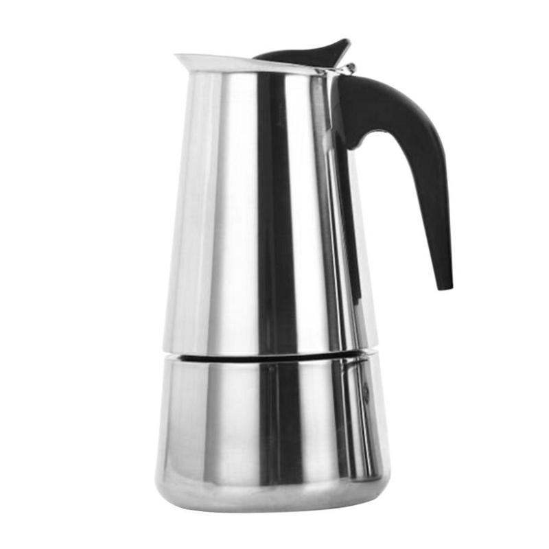 Нержавеющаясталь фильтр плите Moka Кофе горшок Moka итальянский Кофе чайник Кофе питьевой воды горшок(Китай)