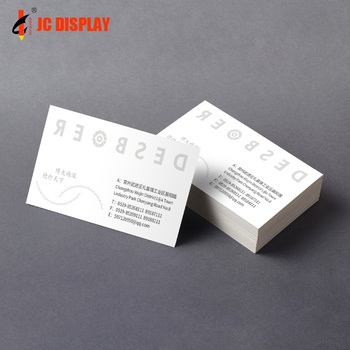 Luxury Christmas Printing China Manufacture Post Hardcover Name Card