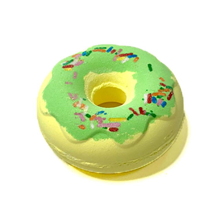 С возможностью нанесения производителем личных богатый пузырь органический натуральный пончик форма Бомбочки для ванны увлажняющий Ванна Fizzer