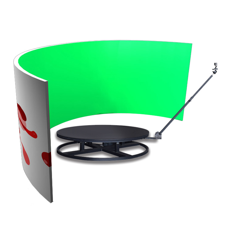 Slow Motion Rotating 360 Degree Photobooth Portable Selfie Spin 360 photo booth Machine