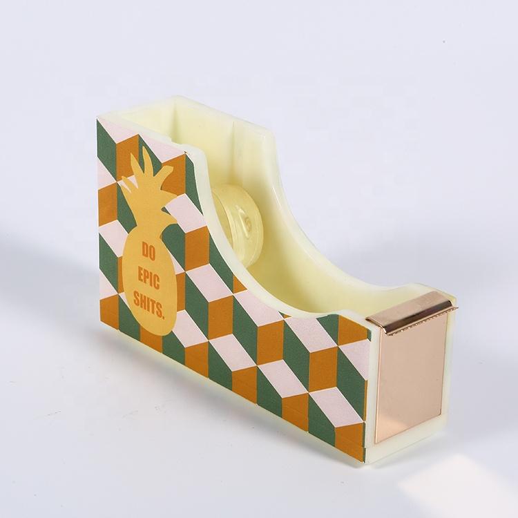 Настольный диспенсер для ленты из крафт-бумаги с логотипом на заказ для детей