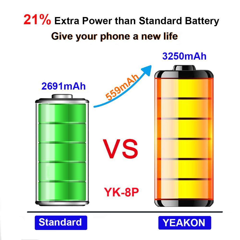 Аккумулятор для мобильного телефона для Iphone 8 Plus класса A 3,8 в 2691 мАч 8 Plus аккумулятор Фабрика 100% тест 0 цикл OEM