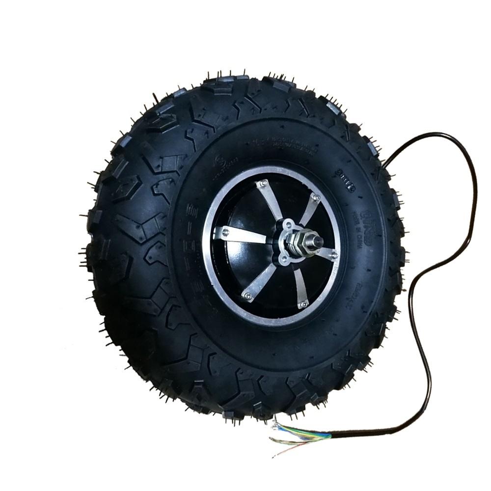 Updated 36 Volt 350W 14.5 Inch Brushless Electric Hub Motor for Rear Wheel Wheelbarrow