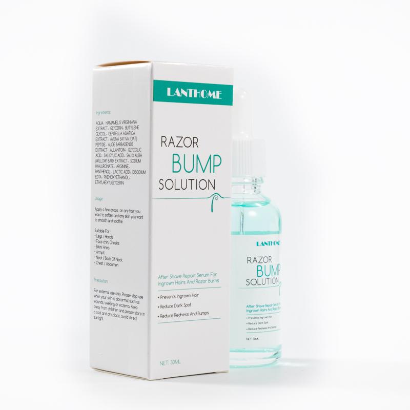Lanthome 30ml stopper razor bump creme ingrown hair serum