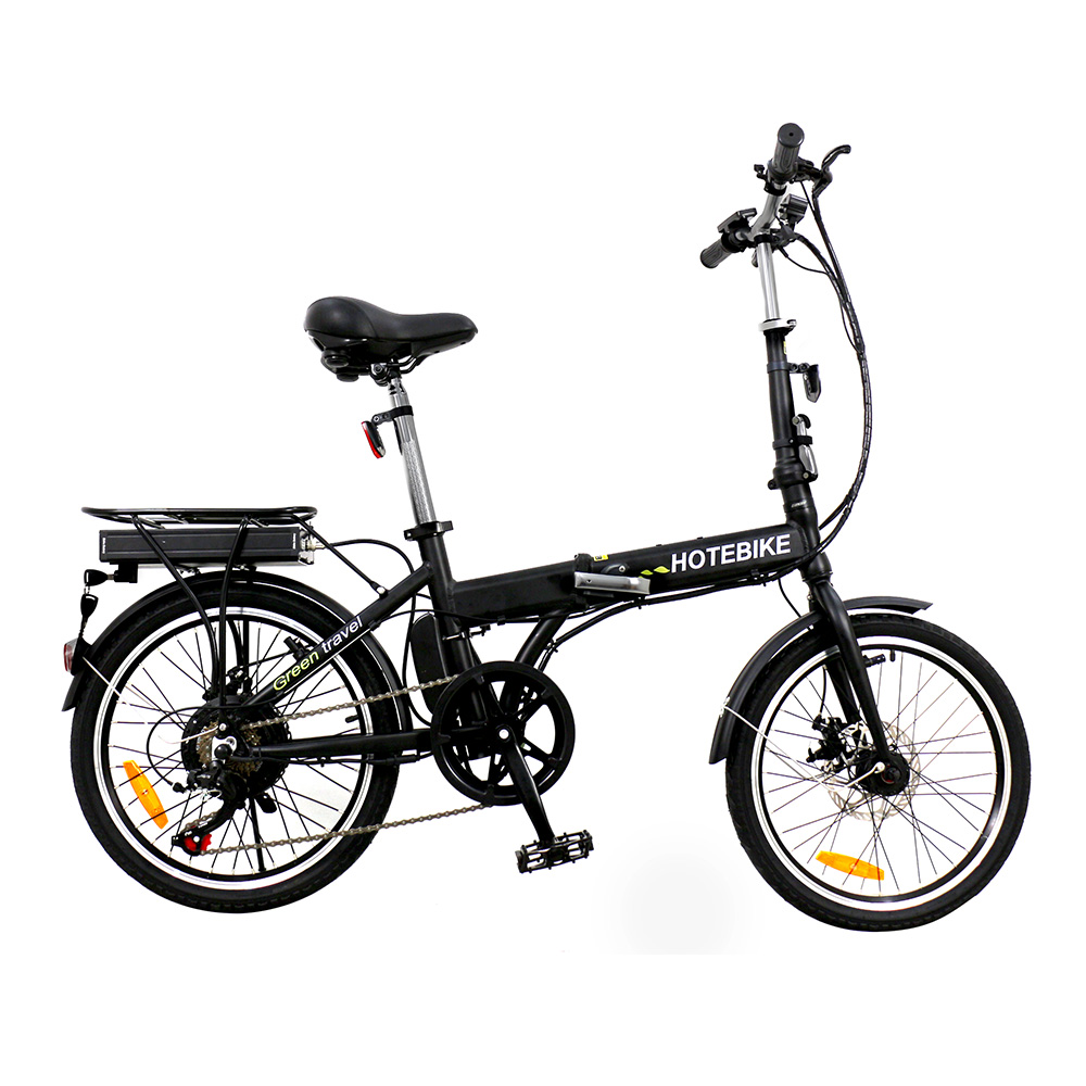 Folding design city carbon 250w 350w 36v 20 inch moped electric bicycle - folding electric bike - 1