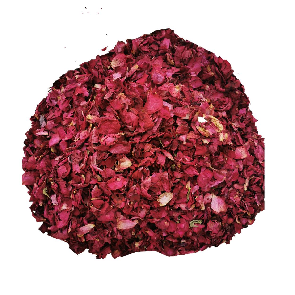 100% Natural Dried Rose Petals Real Dried Petales de Roses for Infusion Organic Pink Rose Petals for Bath and Beauty - 4uTea | 4uTea.com