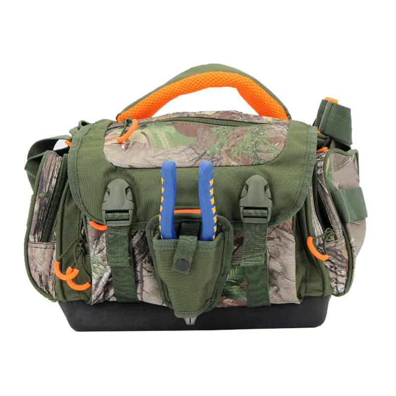 Multifunctional Waterproof Nonslip Molded Bottom Fishing Lure Tackle Bag