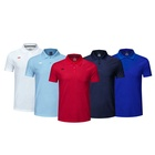 Polo High Quality Polyester Cotton Men's T-shirt Plus Size Soft Golf Polo Shirt With Custom Printing Logo