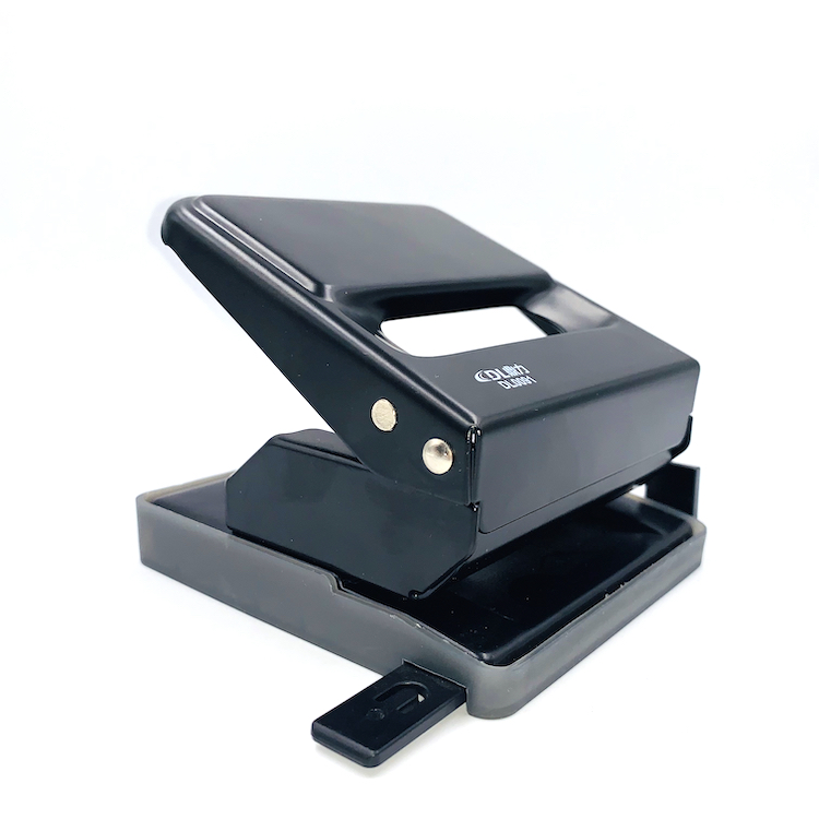 Office Hand Manual 25 Sheet Capacity 2 Hole Paper Puncher Wide Handle Paper Hole Puncher