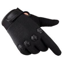 Тактические полный палец перчатки противоскользящие сенсорный экран Охота Кемпинг Велоспорт камуфляж Спорт на открытом воздухе Военные п...(Китай)