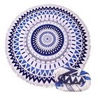 Microfiber Beach Towel Custom Print Turkish Round Microfiber Beach Towel