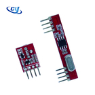 Transmitter Receiver Module Red Board CY28 CYT6 Lower Cost 315 433.92 Mhz Receiver Transmitter Module Kit