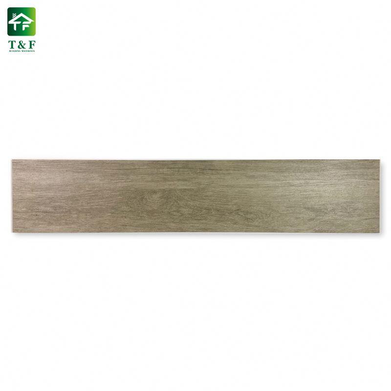 Antideslizante de impresión digital de madera de cerezo de grano de madera precio baldosas de madera rústico color de piso de cerámica y azulejo de la pared