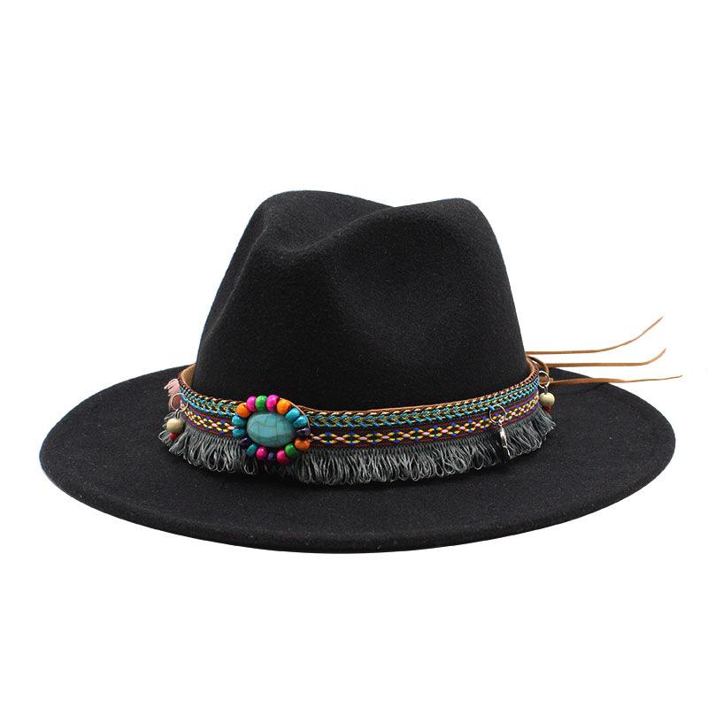 Высокое качество 2021 женская новая дизайнерская мини широкая лента логотип с фетровой шляпой