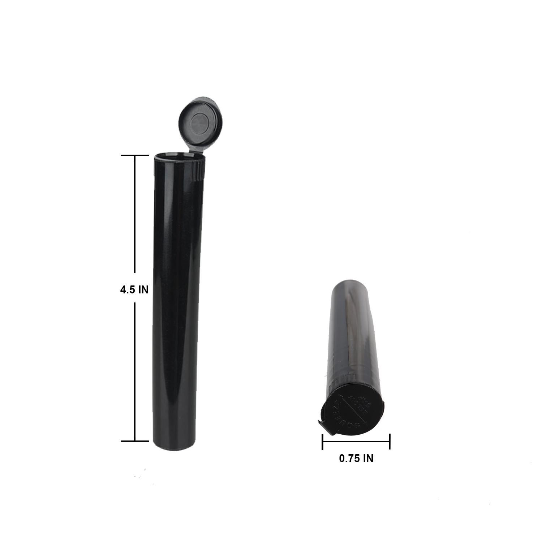 Контейнер с защитой от запаха, пластиковые черные трубки для травы сорняков