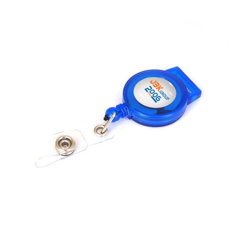 Прочный выдвижной Бейдж для удостоверения личности, держатель для висячих карт, брелок для ключей