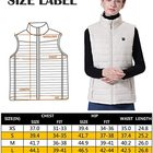 Vest Factory Direct Sale Heated Winter Coat For Women Heated Vest Size Adjustable Smart Heating Clothing