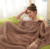 Super soft polyester lamb wool blanket warm cashmere blanket