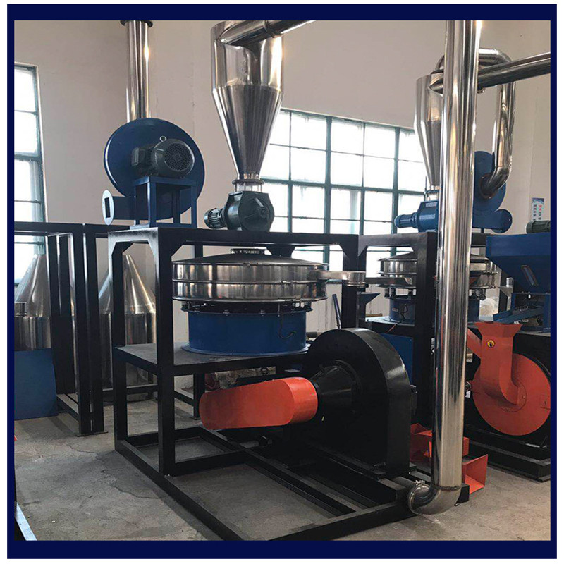 Plastic flour milling machine in China Manufacturer