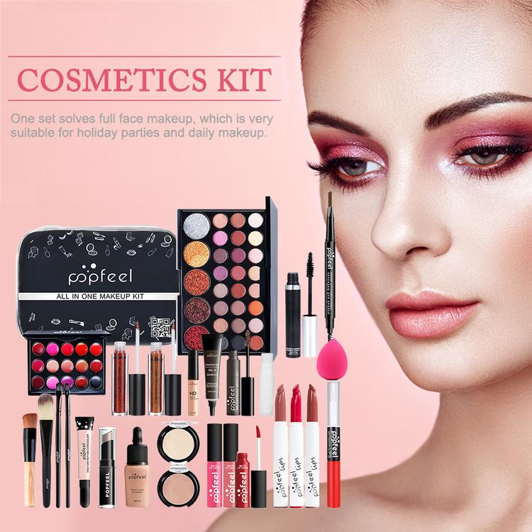 Makeup Set with Eye-shadows Lipstick Concealer Cosmetics Kit for Women Girls make-up sets