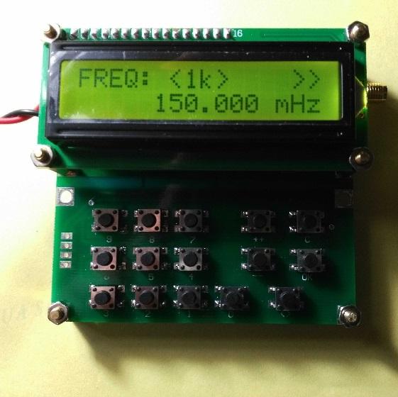35MHz-4000MHz RF Signal Generator Signal Source ADF4351 VFO HXY D6 V1.02 US-FAST
