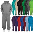 Wholesale custom cotton poly sweat tracksuits unisex sport blank jogging suits