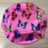 satin pink butterfly