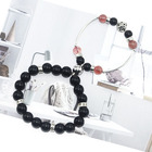 Obsidian New Gravity Attraction Couple Bracelet Obsidian White Crystal Lover Distance Bracelet For Couple