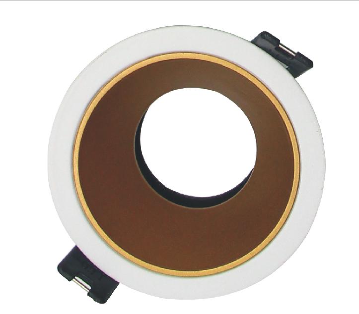 Manufacturer New Models LED Lighting Retrofits Hot Selling LED MR11 MR16 Housing Downlight Fixture Sandy Gold Color Black Chrome