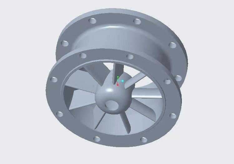Новый дизайн, бесщеточный индукционный турбинный горизонтальный осевой микрогенератор kaplan, турбина для домашнего использования, 5 кВт