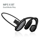 Wearable Inbuilt Memory Long Battery Life BT Mini Sports Music Play Rubber MP3 Player with Earphones Bluetooth 5.0 for Running