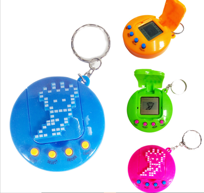 2019 оптовая продажа, электронная машина для домашних животных с крышкой, виртуальный пазл для домашних животных, мини-развивающая игровая машина, игрушка